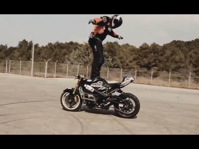 Crazy Motorcycle Stunts and Tricks! - bikers are awesome