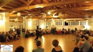 Ariadna Naveira y Fernando Sanchez bailan a la Cascina Dal Pozzo