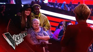 Will's Biggest Fan, will.i.nan! | Blind Auditions | The Voice Kids UK 2019
