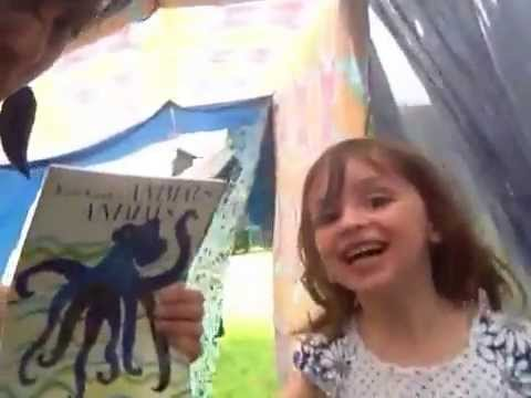 Make a Fabric Clothesline Tent for your kids