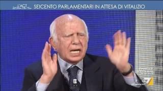 Pomicino vs Giletti: 'A Domenica In guadagni 42mila euro'