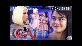 Vice gets mad at Sanrio for wearing a similar dress as his | It's Showtime Mr. Q and A