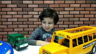 Kids abc Song with Toy Cars Wali Playing with Cars