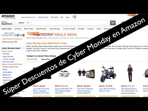 Cyber Monday en Amazon ofertas increibles en Tabletas, TV, Laptops