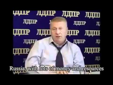 US and Russia Has Similar Weapons and Elenin Could Be a Dummy? Жириновский