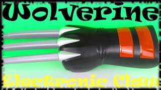 Marvel X-Men Wolverine Electronic Claw Fun Sound & Action Toy Review & Unboxing, Hasbro