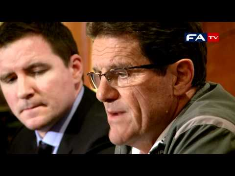 Fabio Capello & John Terry Press Conference | Wales v England 25/03/11