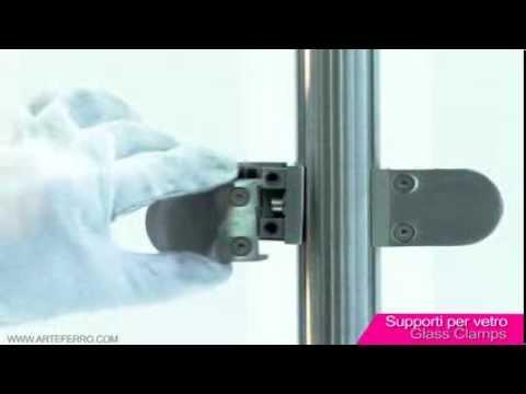 Supporti per Vetro - Glass Clamps