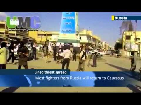 200 Russian jihadis in Syria: Moscow fears fighters could spread Islamist extremism upon return
