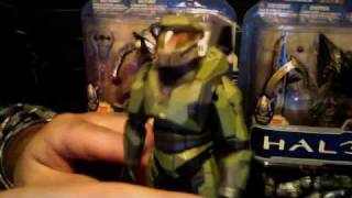 Mcfarlane halo anniversary series 1.master chief review