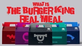 What is the Burger King Real Meal?