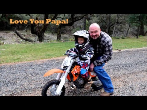 ktm 50 SX Mini For Christmas 2 years old riding th.mp3