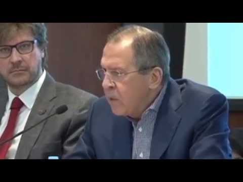 Russia FM Lavrov: Western sanctions are plot against Moscow to spark Russian 'regime change'