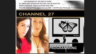 "Jenny Moonstone Series ""Programming"" - Live readings at the end of the show"