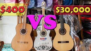 GUITARRA BARATA VS GUITARRA CARA DE PARACHO, MICHOACÁN, MÉXICO