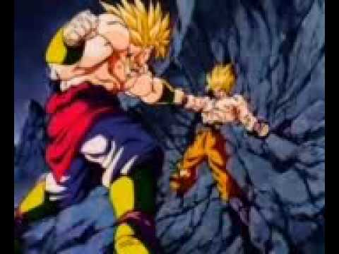 Goku Vs Broly  Three Days Grace - Time Of Dying video
