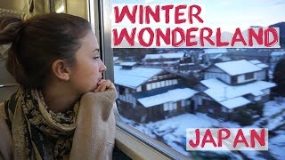 Best Train Journey From Tokyo | Winter Getaway Japan - Minakami