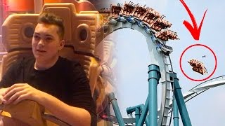 FALLING OFF OF ROLLER COASTER!