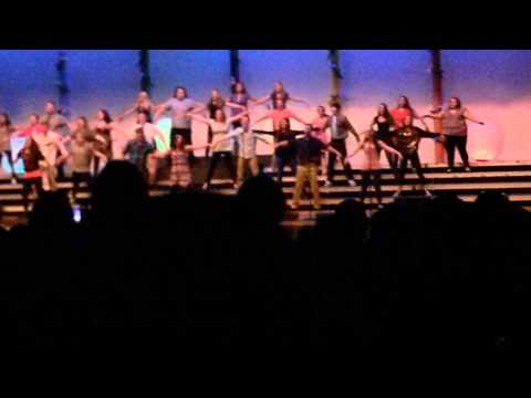 LIAM BARNARD NEW CASTLE INDIANA CHIOR CONCERT 2015