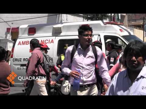 Muere niña de 4 años al ser atropellada por camión en Toluca