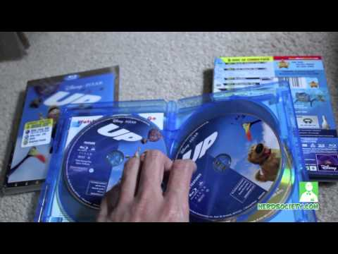 Finding Nemo & Up 3D Blu-ray Unboxing Review - North America