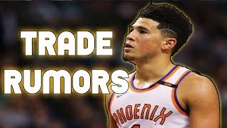 Devin Booker Being Traded to Boston Celtics, OKC Thunder? NBA Trade Rumors