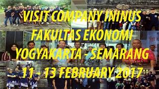 Visit Company YOGYAKARTA - SEMARANG ( UNINUS Fakultas Ekonomi ) PT. NISSIN
