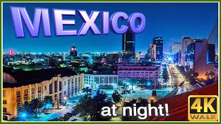 【4K】WALK POLANCO at night MEXICO CITY CDMX slow tv TRAVEL VLOG