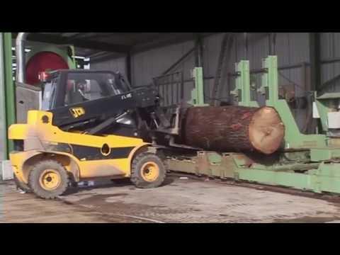 World Amazing Modern Mega Machines Heavy Equipment Unusual Woodwork Sawmill Wood Cleaver Saw CNC
