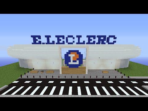 Minecraft construction d 39 un leclerc episode 4 youtube - Video minecraft construction ...