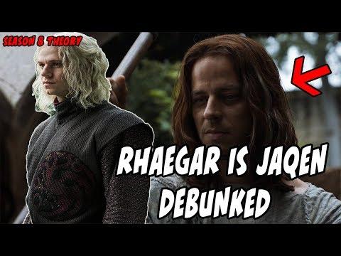 Jaqen is Rhaegar Theory DEBUNKED! Game Of Thrones Season 8