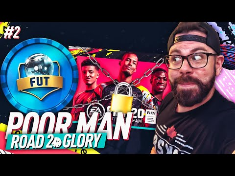 FREE FUT DRAFT TOKEN! FIRST SQUAD COMPLETE! - POOR MAN ROAD TO GLORY #2 - FIFA 20 Ultimate Team
