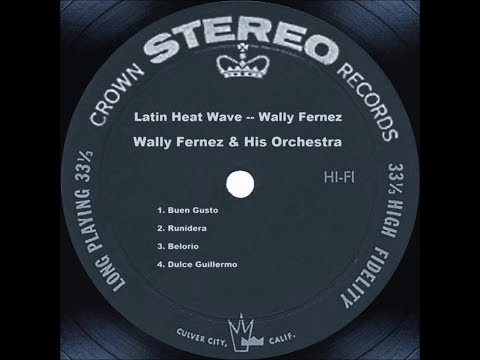 WALLY FERNEZ Y HIS ORCHESTRA - MAMBO A LA FERNEZ
