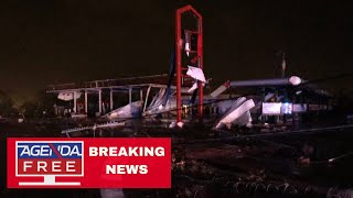 Tornado Hits Jefferson City, Missouri - LIVE BREAKING NEWS COVERAGE