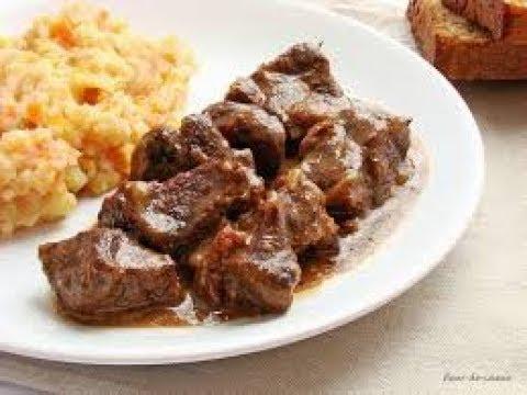Тушеная говядина по фламандски ( вкуснейший рецепт )