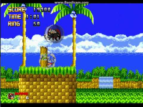 Sonic 1 Megamix (beta 4.0) - Sonic 1 Megamix (beta 4.0) on Vizzed- Shadow - User video