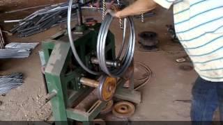 Uốn ống làm khung ghế đôn - Nội Thất Mây Nhựa Minh Thy