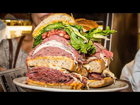 NEW YORK'S BIGGEST SANDWICH CHALLENGE | The Trip To Manhattan Pt.1