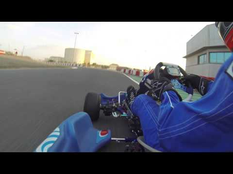 Piers Pakenham-Walsh - Dubai Kartdrome, 56.19s