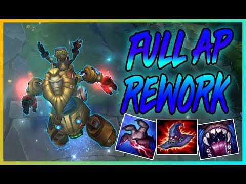 CARRILEADA EXTREMA CON EL REWORK Y FULL AP | League of Legends | Drake Rajanj