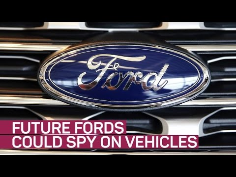 Future Ford cars could spy on other vehicles