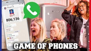 YOUTUBERS KIJKEN IN ELKAARS TELEFOON BIJ GAME OF PHONES! | Free-for-all Friday | Challenges Cup #18