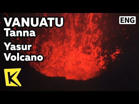 【K】Vanuatu Travel-Tanna[바누아투 여행-탄나]야수르 활화산 폭발/Yasur Volcano/Island/Palm Tree/Sulpur