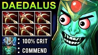 DAEDALUS WRAITH KING DOTA 2 PATCH 7.07 NEW META PRO GAMEPLAY
