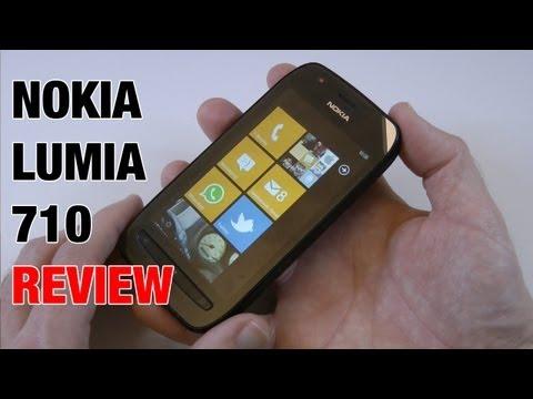 Nokia Lumia 710 Mobile Phone Review