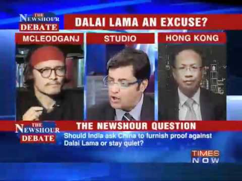Debate: Beijing points at India (TIMES-NOW)