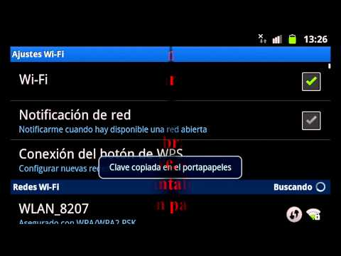 Video tutorial para wifileak. apk para android para contraseñas WEP y WPA por defecto app