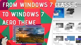 Windows 7 Aero Theme not working error | Gray Theme error | 2017