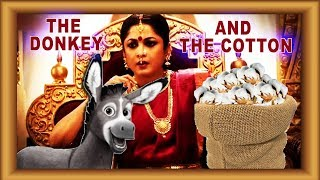 Moral Stories With Bahubali | Donkey and the Cotton | Videos for Toddler Babies by Lotusbaby TV