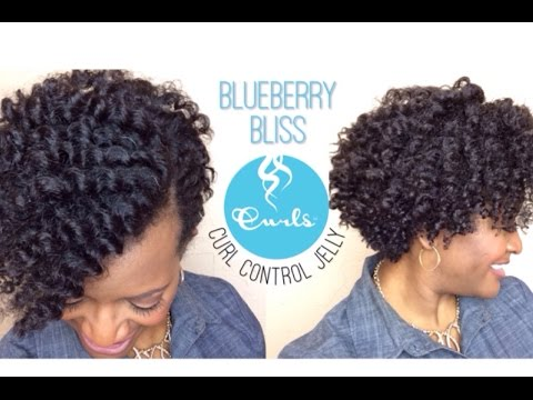 80   Tapered Flat Twist Out ~ Blueberry Bliss Product Review